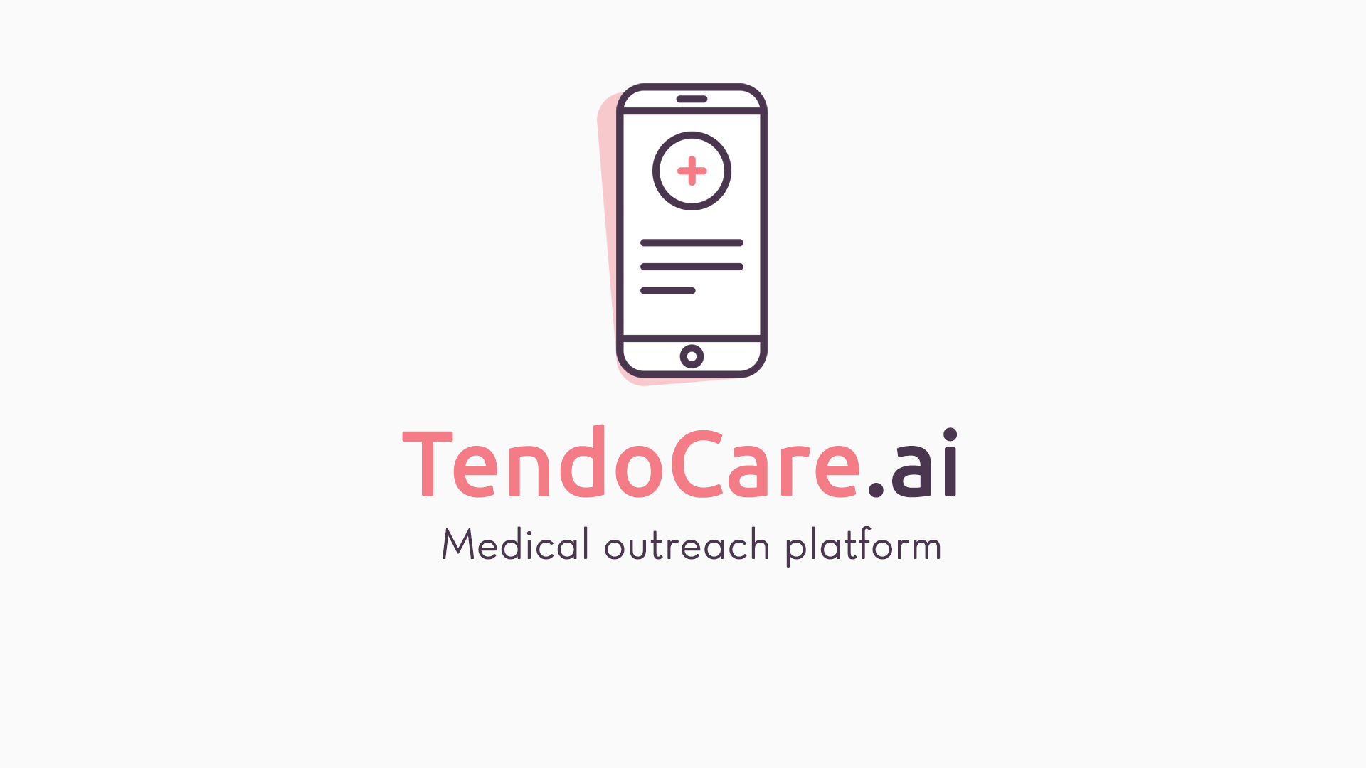 Introducing TendoCare.ai