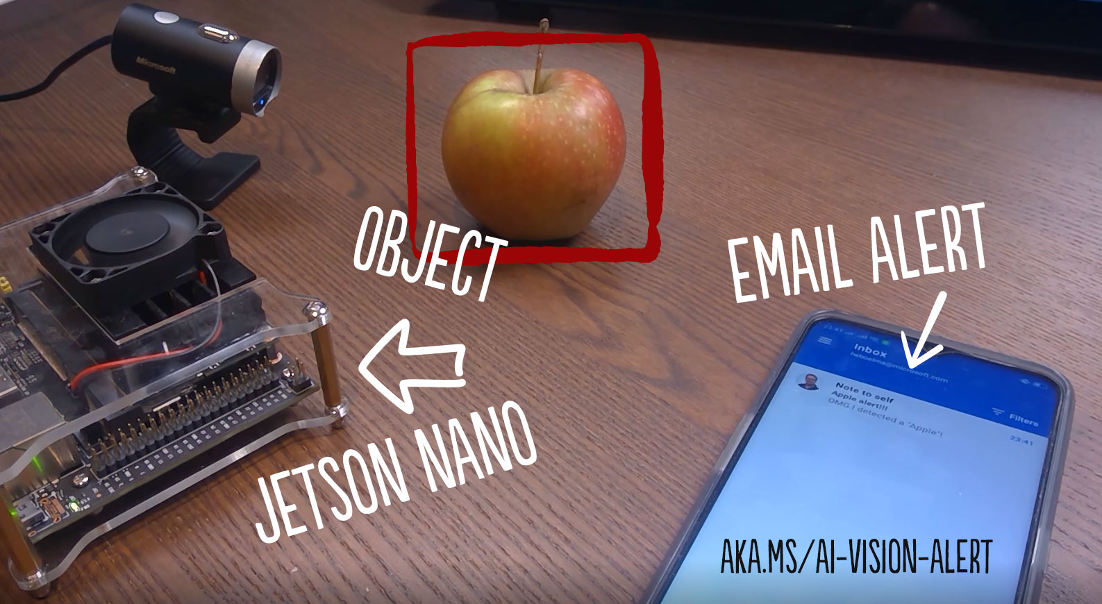Create your own vision alerting system with IoT Edge, Azure Custom Vision and a Jetson Nano